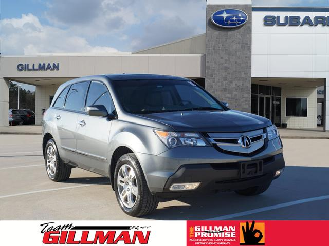 Pre Owned 2009 Acura Mdx Sh Awd W Tech