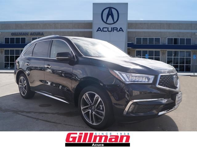 new 2017 acura mdx sh awd with advance package suv in north houston 0a171265 gillman acura. Black Bedroom Furniture Sets. Home Design Ideas